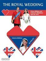 PALAU  2011 - ROYAL WEDDING PRINCE WILLIAM AND KATE MIDDLETON SOUVENIR SHEET MNH
