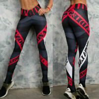 High Running Women Fitness Stretch Waist Gym Leggings Trousers Pants Sports Yoga
