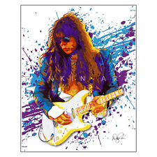 "Yngwie Malmsteen Shred Guitar Marching Out 11x14"" Music Art Print Poster"