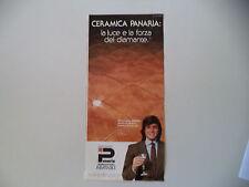 advertising Pubblicità 1983 CERAMICA PANARIA
