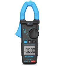 Acegmet Digital Multimeter Tester Ac Dc Volt Clamp Meter Auto Range 6000 Counts