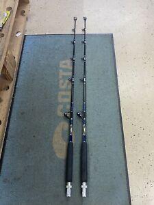 Custom 50# Class Trolling Rod Set (x2 pc)