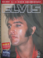 ELVIS PRESLEY HOT SHOT & COOL CLIPS VOL 5 A VIDEO DOCUMENTARY - new