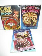 Vintage Wilton Cake Decorating Yearbooks 82 85 88