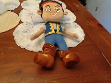 DISNEY JR PLUSH DOLL FIGURE JAKE THE NEVERLAND PIRATES AYE MATEY JAKE TOY PLUSH