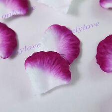 100/500/1000pcs Silk Flower Rose Petals Wedding Table Confetti Party Decorations