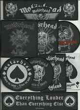 MOTORHEAD bunch of 10 top sellers WOVEN SEW ON PATCHES official LEMMY no.1/2