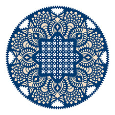 New Tattered Lace 'WHITEWORK DOILY' DIE - TLD0043 - FREE 1st Class UK P&P