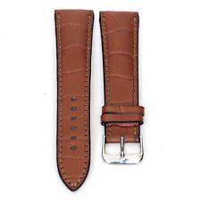 Genuine aligator Rios1931 22mm President cognac watch band