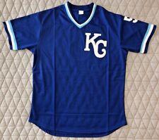 Kansas City Royals George Brett 1989 BP Custom Jersey - Size XL - FREE SHIP!