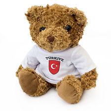 NEW - TURKEY Flag - Teddy Bear - Cute And Cuddly - Gift Present Birthday Türkiye