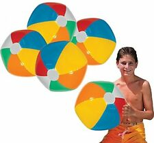 Toy Cubby Jumbo Inflatable 24 Inches Rainbow Beach Ball And Swimming Pool Party