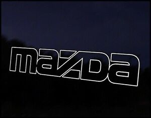 MAZDA 2 3 6 MX-5 RX-8 MPS MIATA BONGO LOGO DRIFT JDM DECAL VINYL