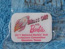 2017 Barbie Doll Convention Blast Off With Barbie Pin