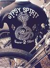 GYPSY SPIRIT cobra crystal ball forever two wheels ftw biker retro vintage shirt