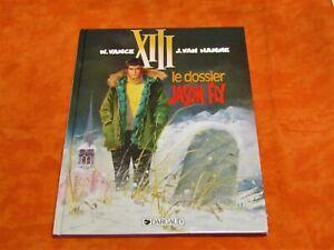 Bd XIII , Le dossier Jason Fly 1998