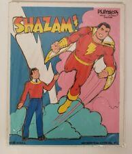 Vintage 1976 DC Comics Shazam! Playskool #308-02 Wood Puzzle Superheroes M