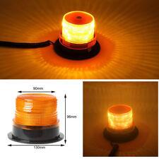 LED Car Bus Beacon Strobe Emergency Warning Alarm Flash Light Amber DC12V/24V