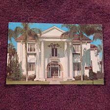Vintage Postcard Waverly Homne Of The Florida Orange, Office Building, Florida