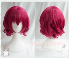 Anime Akatsuki no Yona Wig Pretty Princess Short Rose Hair Yona Cosplay Wig