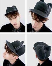 MAISON MICHEL Jamie Cat Ears Felt Wool Cap Hat