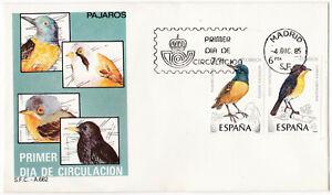 España 1985 FDC – Sobre Primer Dia con Sellos Michel nº 2704/5 Edifil 2820/21