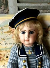 """Sailor costume for Jumeau( nr 9- 19.5""""),Steiner or other antique doll"""