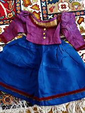 ancienne robe de poupée Jumeau Steiner Sfbj Unis