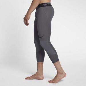 Nike Pro Men's 3/4 Tight In Grey Size M   925821-021