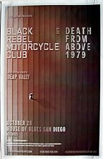 Black Rebel Motorcycle/ Club Death From Above 1979 2016 San Diego Concert Poster
