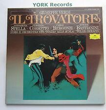 DG 415 389-1 - VERDI - Il Travatore SERAFIN / STELLA - Ex Con 2 LP Record Set