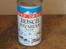 Busch Bavarian Beer. Nice. Clean. Bo. Zip Top