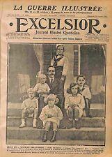 Alphonse/Alfonso XIII Spain Espana Infanta Maria Cristina Infante Juan WWI 1916