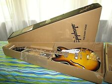 Epiphone Casino VS Semi Hollow Body Electric Guitar Vintage Sunburst MINT in Box