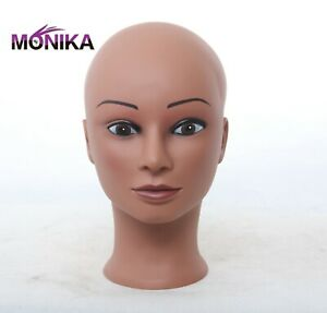 Mannequin  Head Lady's Bald  Dummy Doll Training ADULT Head for Hat Wig Display