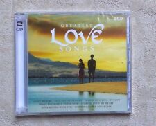 "CD AUDIO MUSIQUE / VARIOUS ""GREATEST LOVE SONGS"" 32T 2XCD COMPILATION 2009 NEUF"