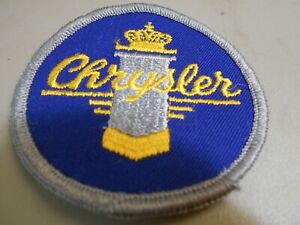 CHRYSLER Embroidery Iron On Patch