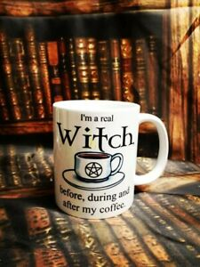 Pagan Wiccan Gift Mug Cup Yule Witch goddess moon