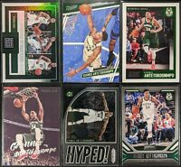 Lot of (6) Giannis Antetokounmpo, Including Factions, Get Hyped, Luminance, more