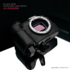 Gariz XS-CHEOSRPBK Genuine Leather Half Case for Canon EOS RP, Black
