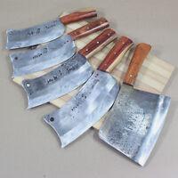 Heavy Duty Meat Cleaver Bone Axe Full Tang Chef Butcher Chopper Knife Steel