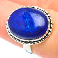 Lapis Lazuli 925 Sterling Silver Ring Size 7.5 Ana Co Jewelry R52521F