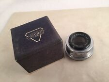 Chiyoko E. Rokkor 1:4.5 F=75mm Enlarging Lens 75mm F/4.5 4.5 Nice With Box!
