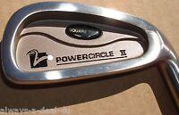 Square Two 3 Iron Power Circle II Golf Club Regular Graphite Shaft, RH