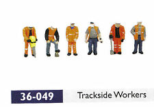 Bachmann 36-049 - Railway Trackside Workers x 6 1/76 Scale '00' Gauge - 1st Post