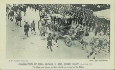 1911 Postcard - Coronation of King George V and Queen Mary