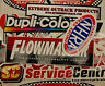 Large Lot of 25 Peel and Stick Vinyl Racing Decals Street Outlaws Muscle Car