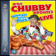 ROY CHUBBY BROWN LIVE - WHO ATE ALL THE PIES **BRAND NEW DVD **
