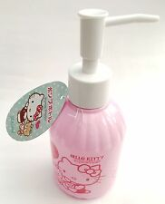 SANRIO HELLO KITTY KAWAII empty Push Pump Bottle 300ml  Liquid container JAPAN