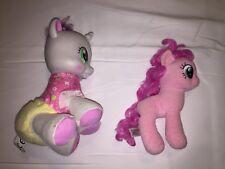 Vintage My Little Pony Pinkie Pie Lot Balloons Hasbro Plush Hard Stuffed Animal
